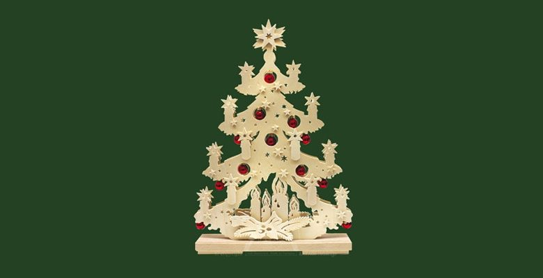 Sapin de Noël en bois : un modèle tout à fait écologique