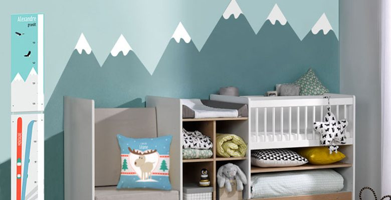Comment bien aménager une chambre d'un bébé?